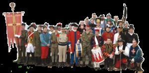 Le Choeur Montjoie Saint Denis en costumes traditionnels