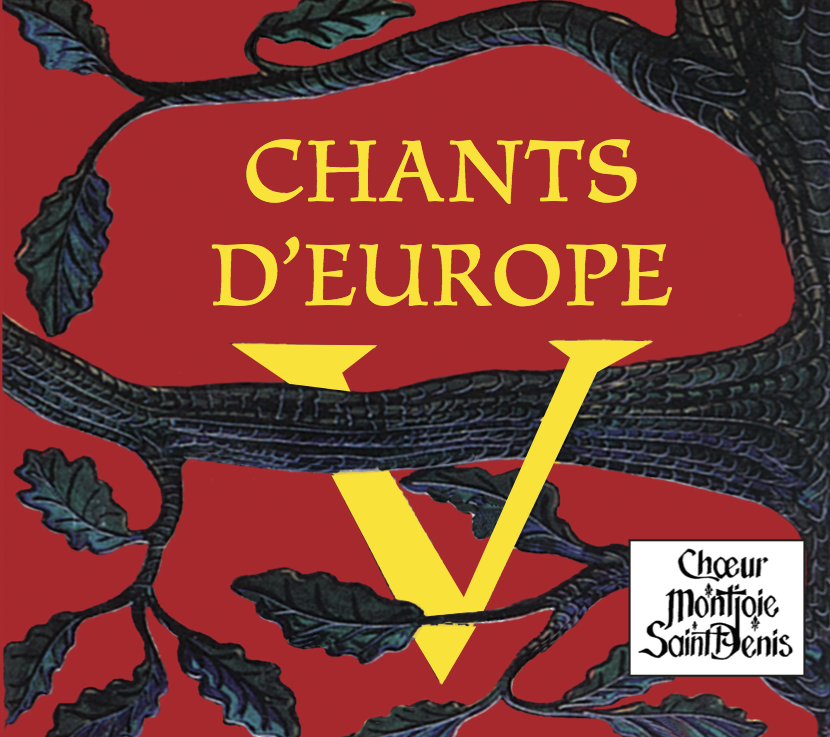 Pochette de l'Album Chants d'Europe V