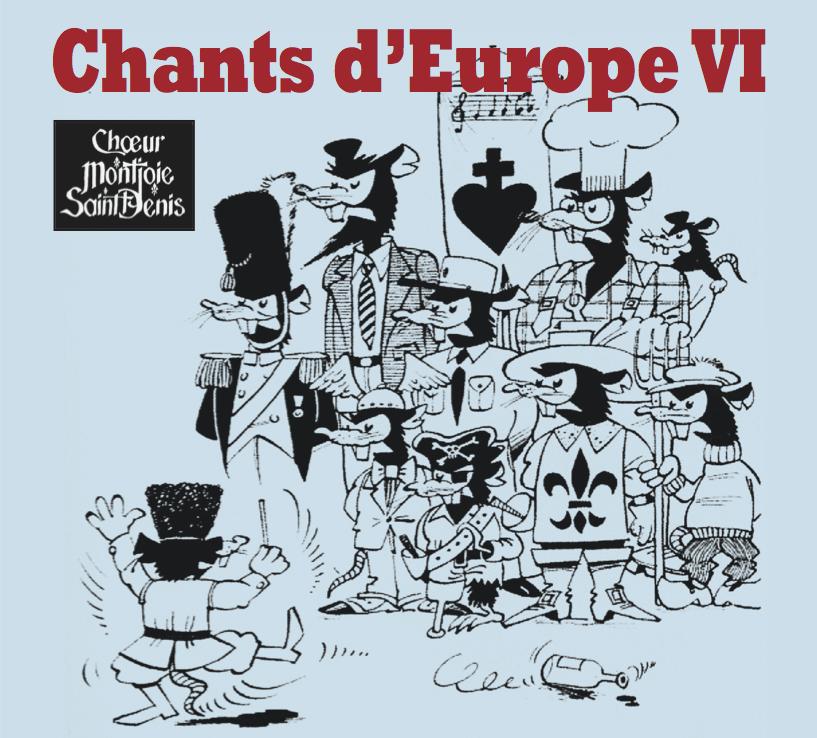 Pochette de l'Album Chants d'Europe VI