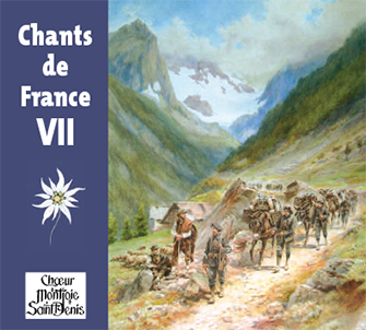 Jaquette du disque 'Chant de France VII'