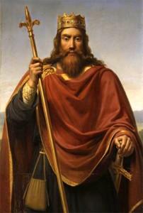 Clovis , le fils de Childéric Ier.