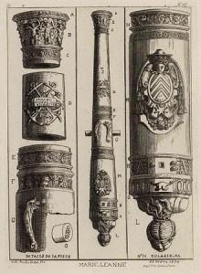 La Marie-Jeanne. Gravure d'Octave de Rochebrune (1874) représentant