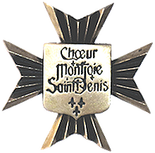 Insigne du Choeur Montjoie Saint-Denis